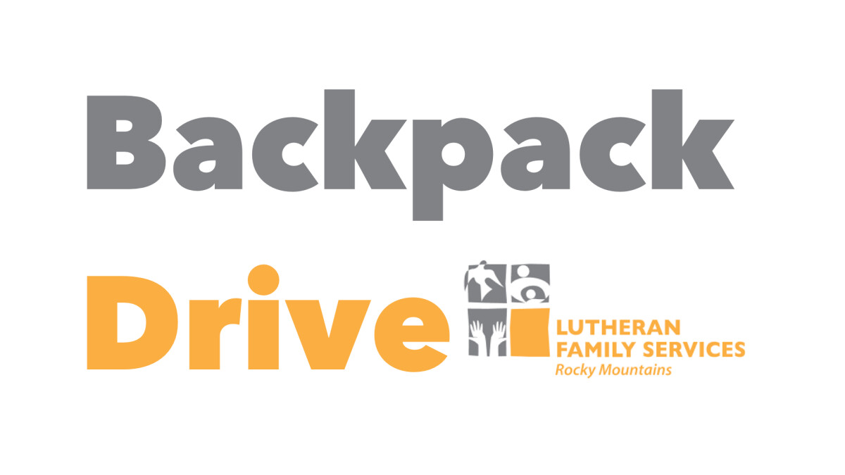 Lutheran Family Services Backpack Drive