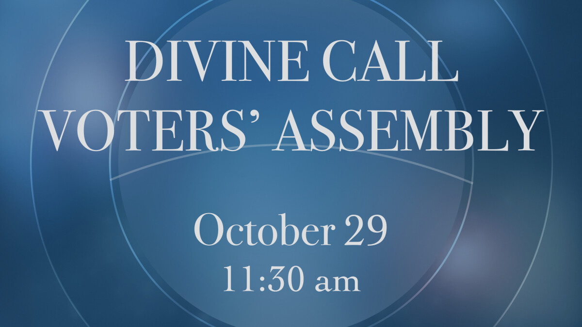 Divine Call Voters' Assembly