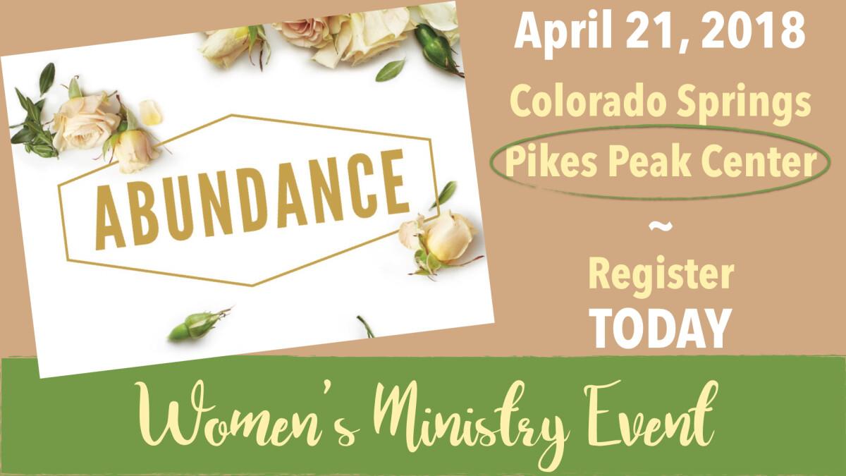 Abundance Women's Conference