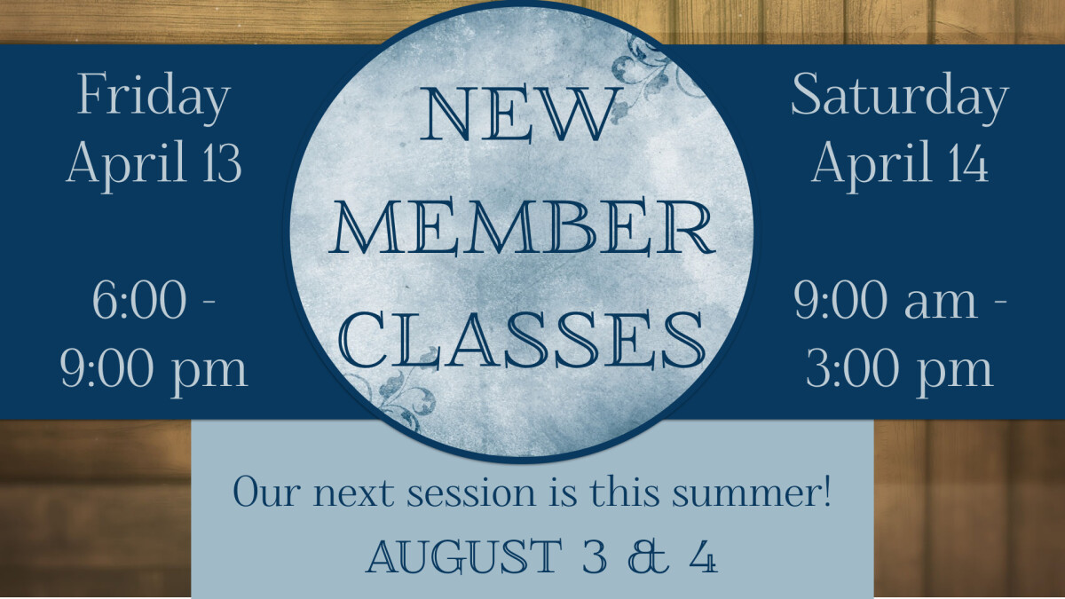 New Member Spring Class Session