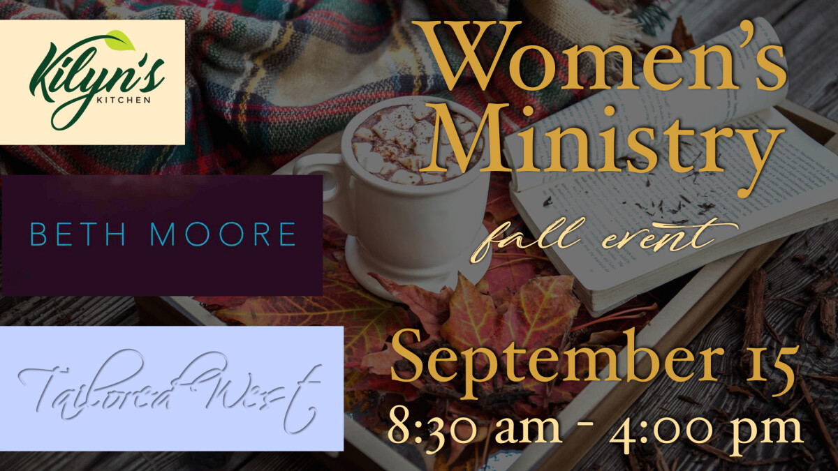 Women's Ministry Fall Event: Simulcast - Lunch - Fashion Show