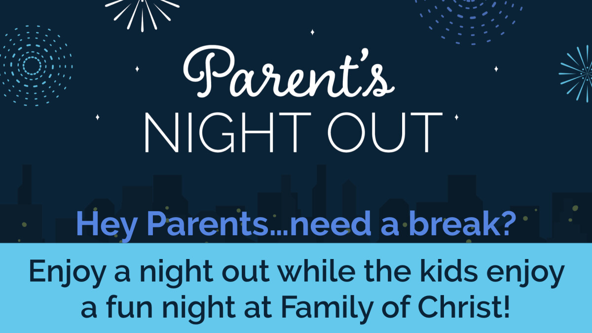 Parent's Night Out - March 15