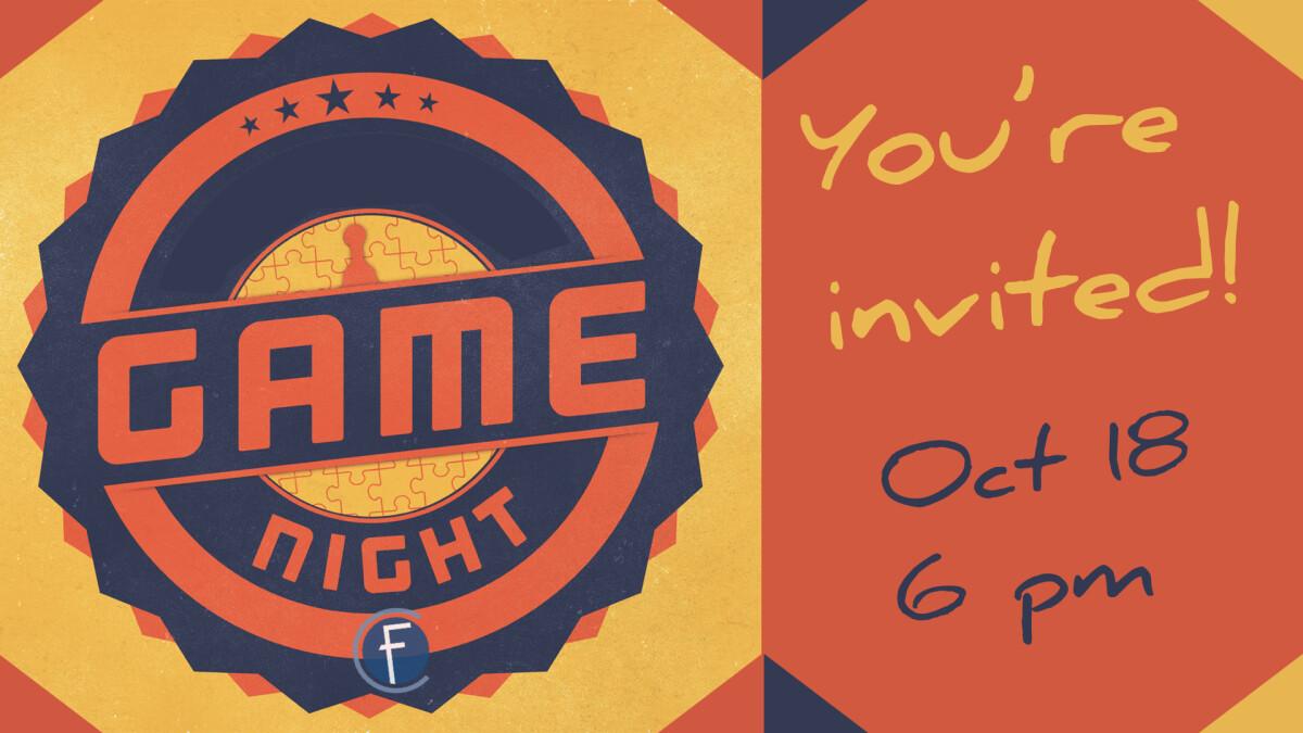 October Game Night
