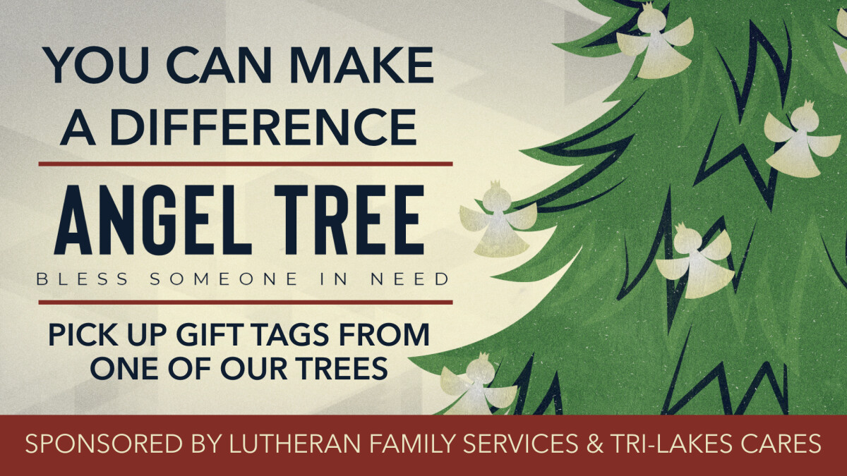 Angel Tree Christmas Drive