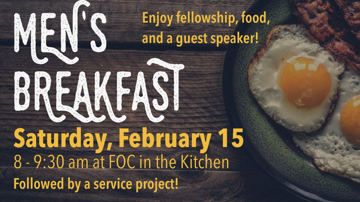 Men's Breakfast - February 15