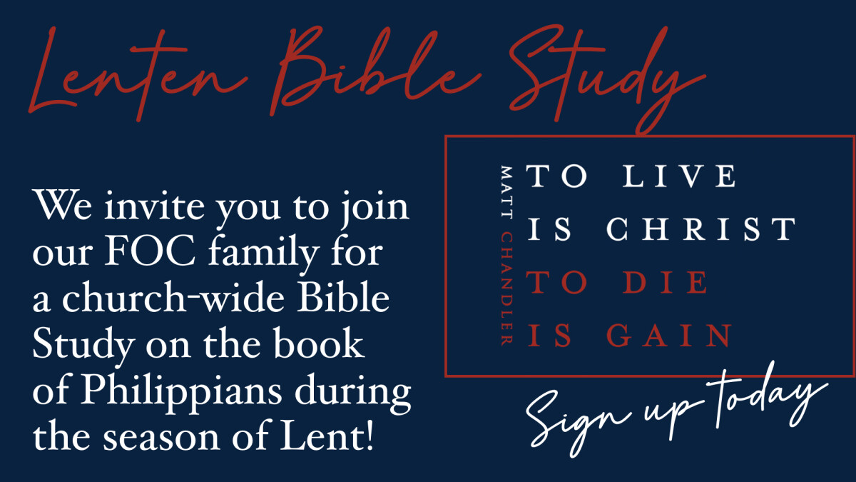 Lenten Bible Study - Join the Six Week Challenge!