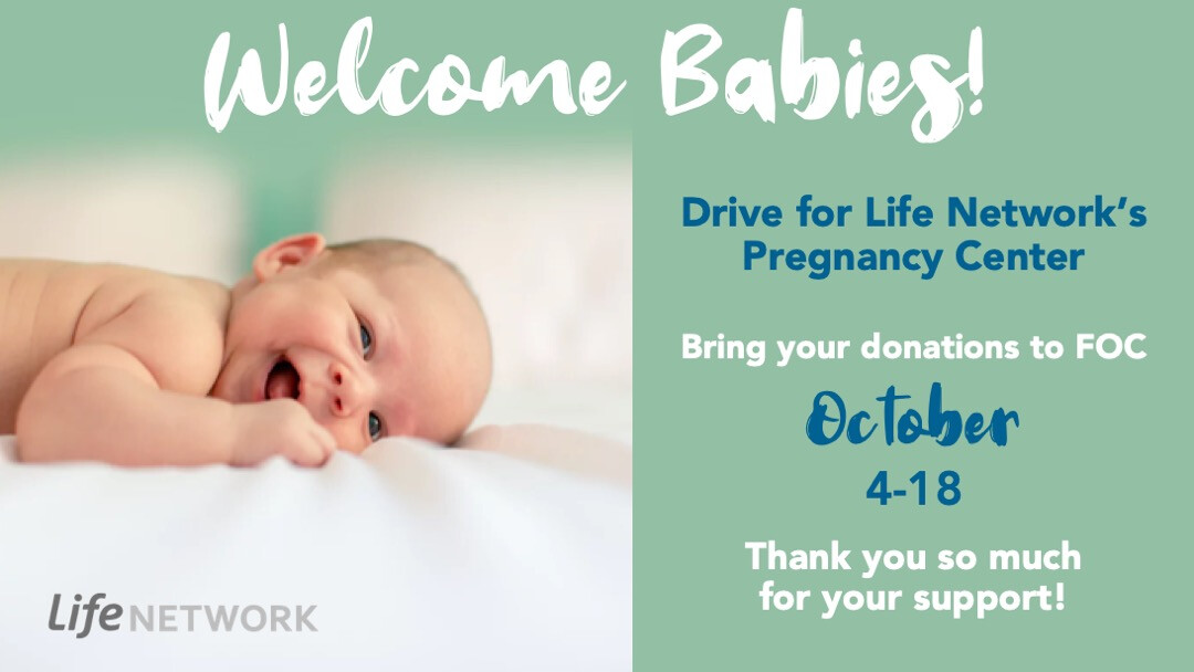 Welcome Babies Drive for Life Network