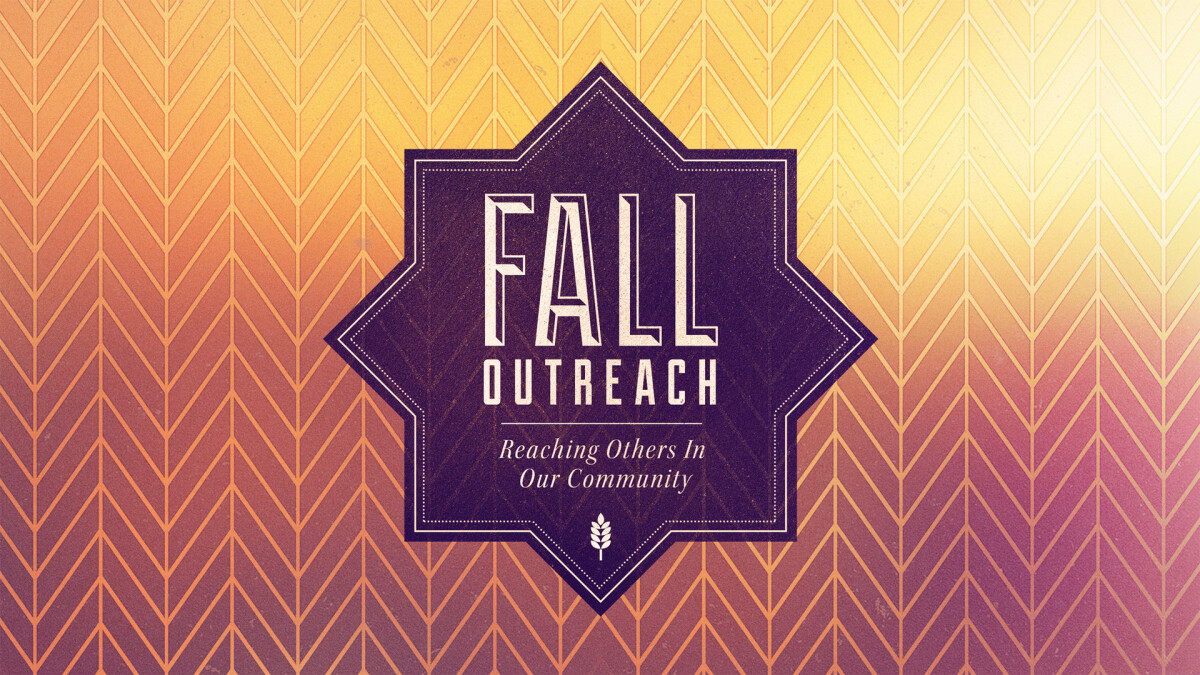 Fall Outreach Opportunities