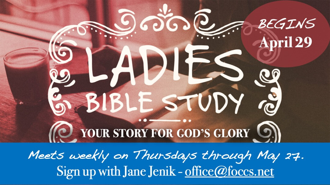 Women's Ministry: Bible Study - Your Story for God's Glory